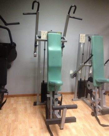 vertical traction Technogym Isotonic