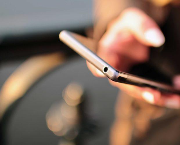 smartphone à la gym