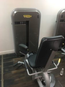 Adducteur technogym element